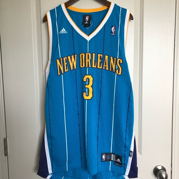 77cbaf469fe adidas Other - New Orleans Hornets Chris Paul Jersey Size Large